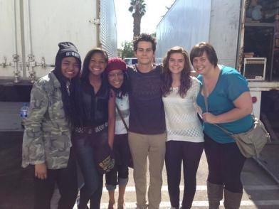 Актьорите от Teen Wolf извън снимачната площадка