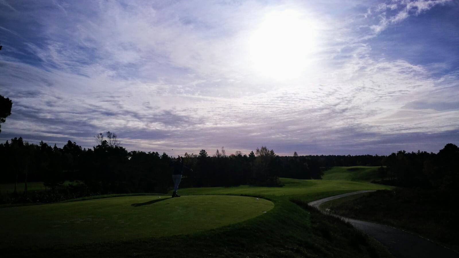 Hull 1, Kragerø Golfklubb