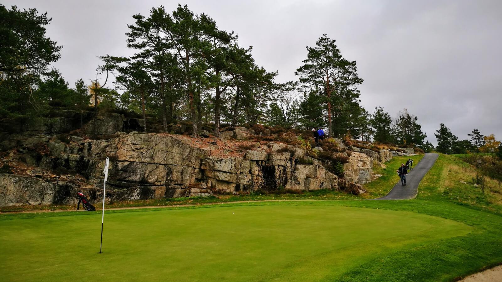 Hull 14, Kragerø Golfklubb
