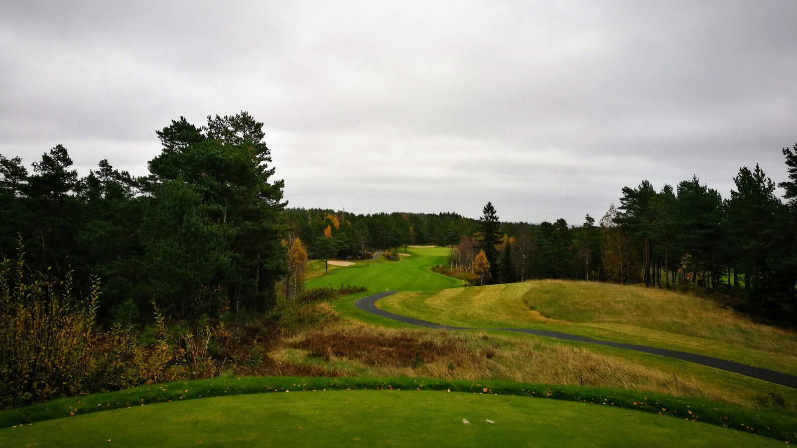 Hull 16, Kragerø Golfklubb