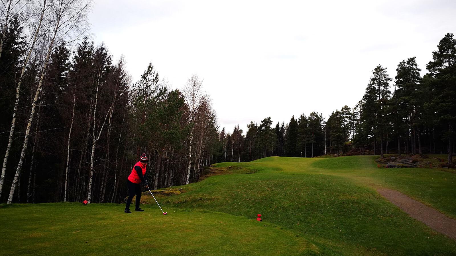 Hull 5, Kjekstad Golfklubb