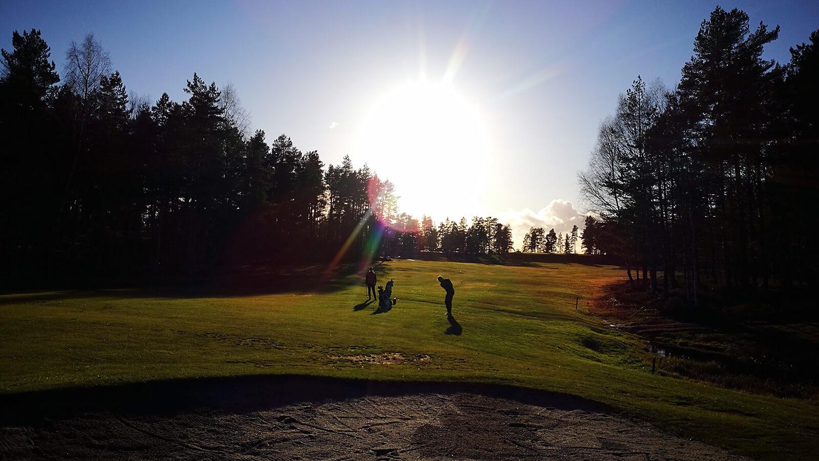 Hull 16, Kjekstad Golfklubb