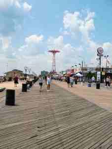 Boardwalk at Coney Island - Marilyn Armstrong