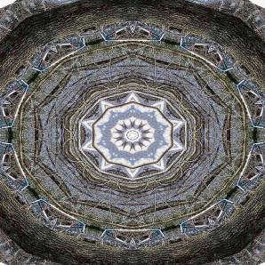 Teepee as kaleidoscope