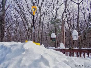 snow shovel oil winter snow