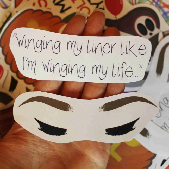 winging sticker