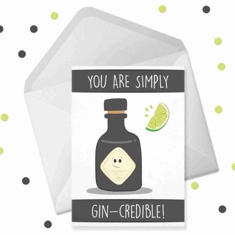 gincredible card