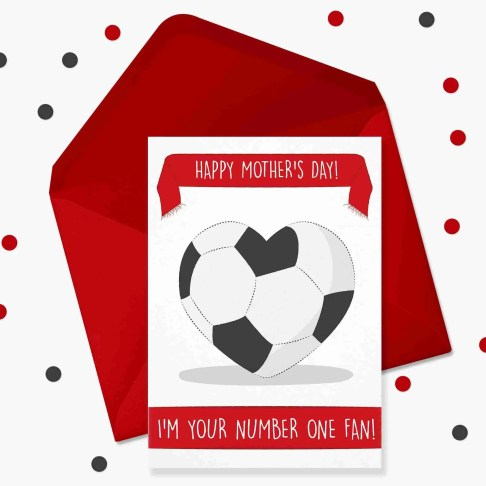 mothers day football card