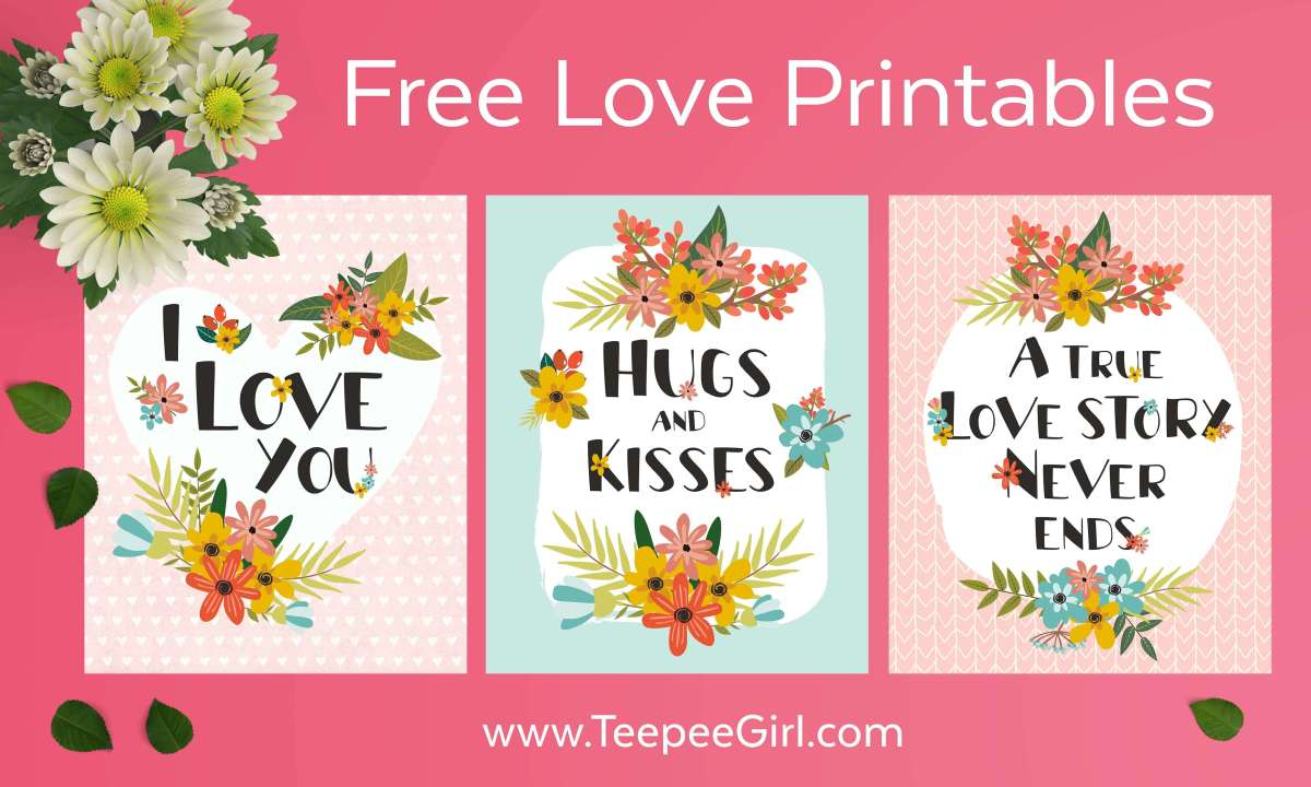 Love Quote Printables