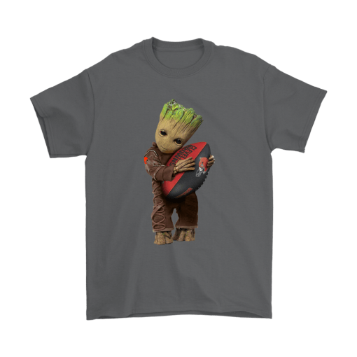 3D Groot I Love Cleveland Browns NFL Football Shirts 2