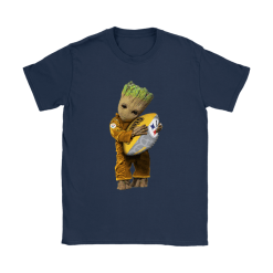 3D Groot I Love Pittsburgh Steelers NFL Football Shirts 23