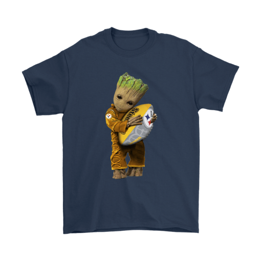 3D Groot I Love Pittsburgh Steelers NFL Football Shirts 3