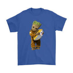 3D Groot I Love Pittsburgh Steelers NFL Football Shirts 18