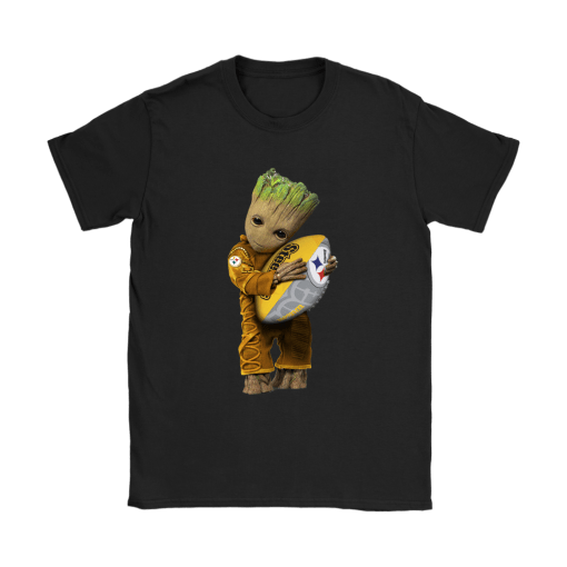 3D Groot I Love Pittsburgh Steelers NFL Football Shirts 8