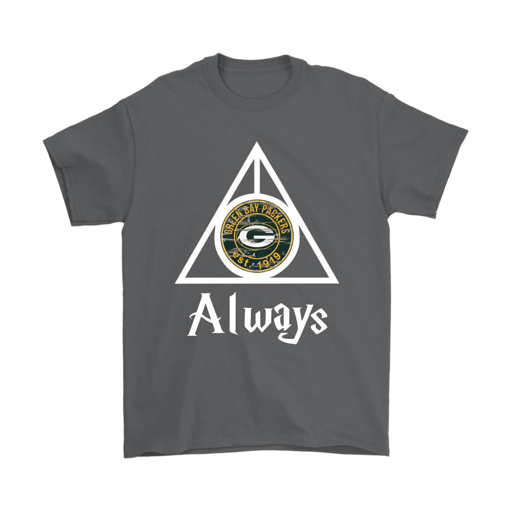 Always Love The Green Bay Packers x Harry Potter Mashup Shirts 2