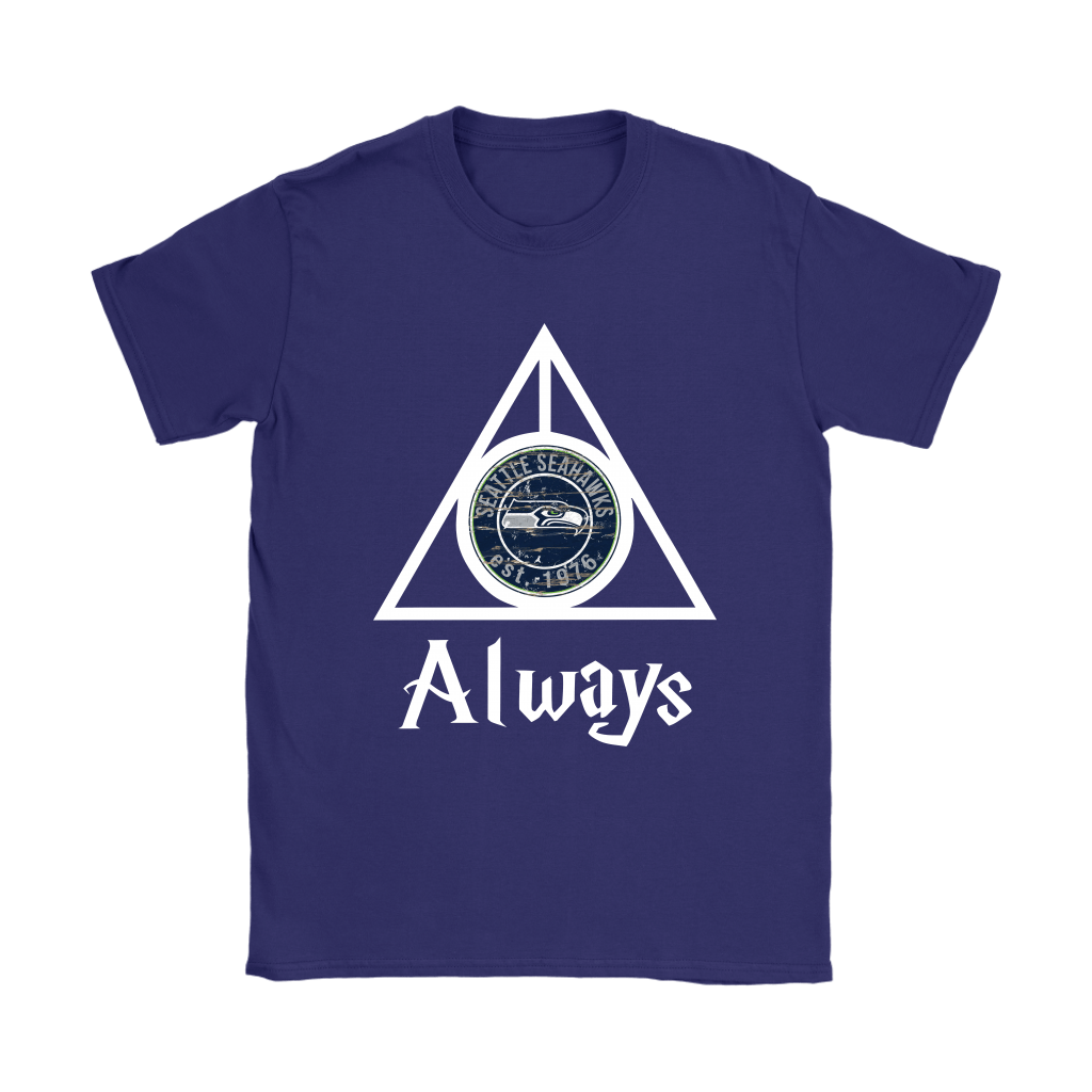 Always Love The Seattle Seahawks x Harry Potter Mashup Shirts 10