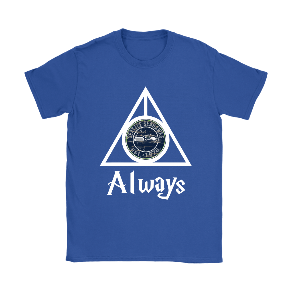 Always Love The Seattle Seahawks x Harry Potter Mashup Shirts 11