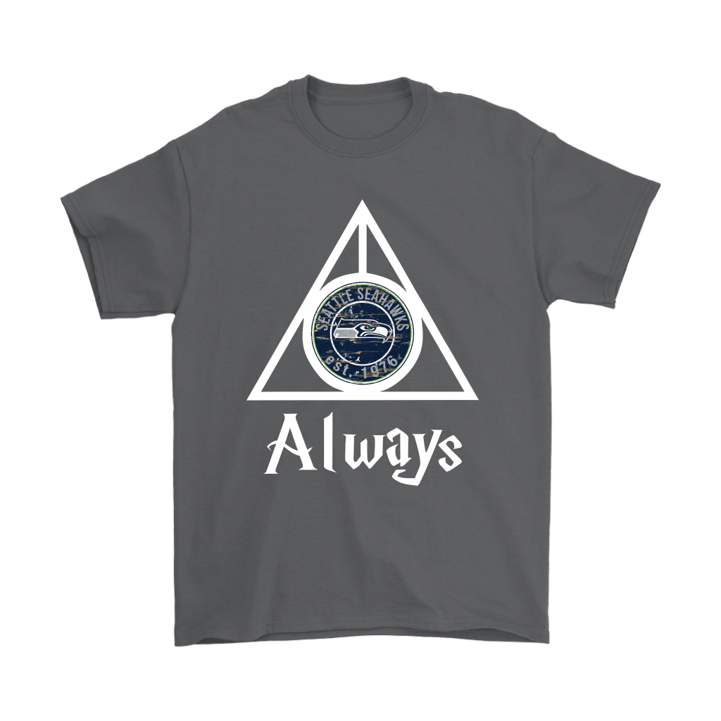 Always Love The Seattle Seahawks x Harry Potter Mashup Shirts 2