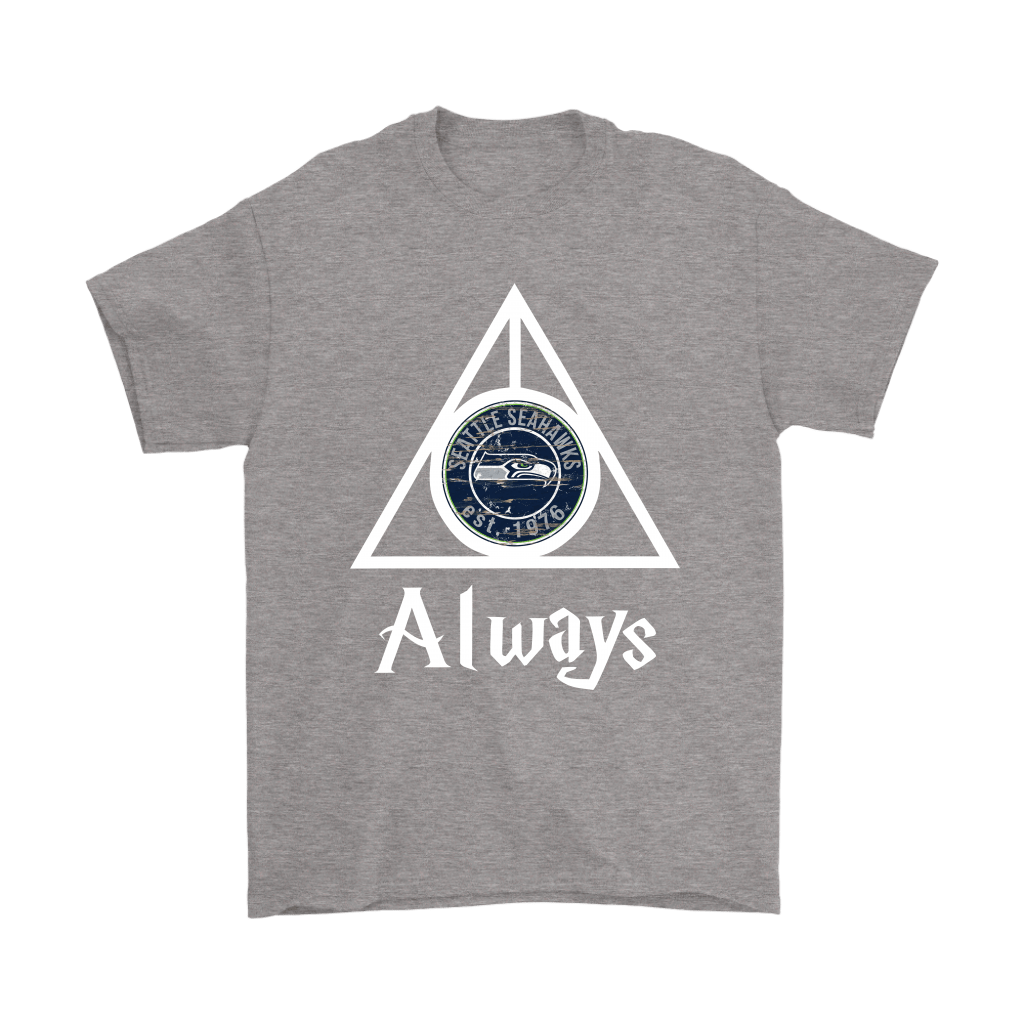Always Love The Seattle Seahawks x Harry Potter Mashup Shirts 6