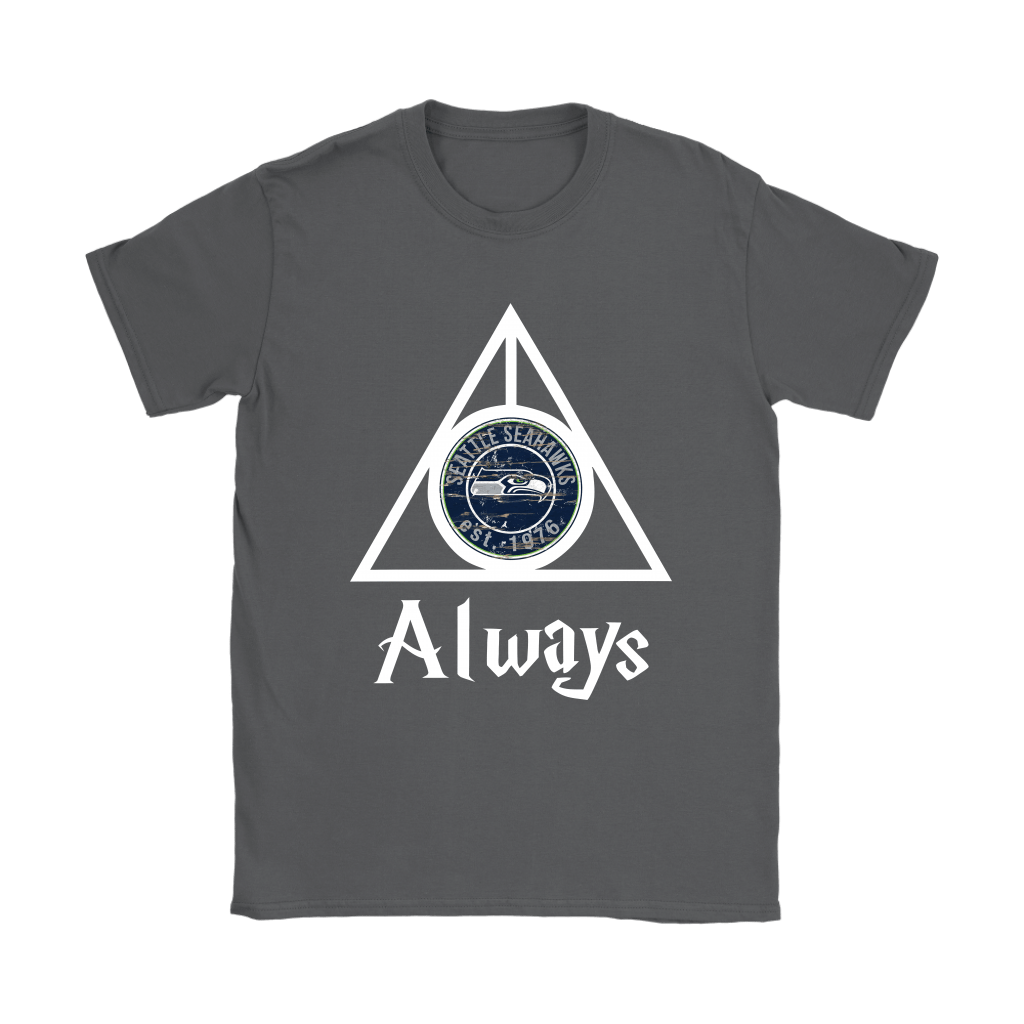 Always Love The Seattle Seahawks x Harry Potter Mashup Shirts 8