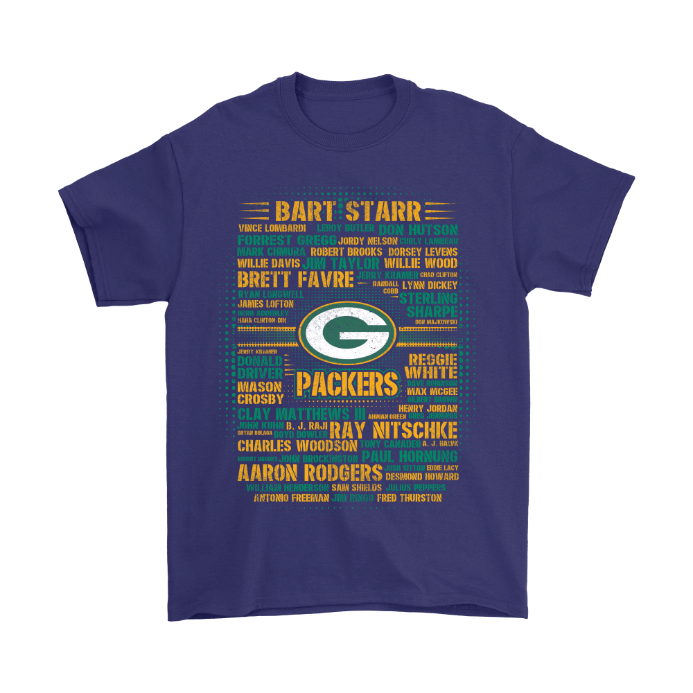 American Football All Players Team Green Bay Packers Shirts 4