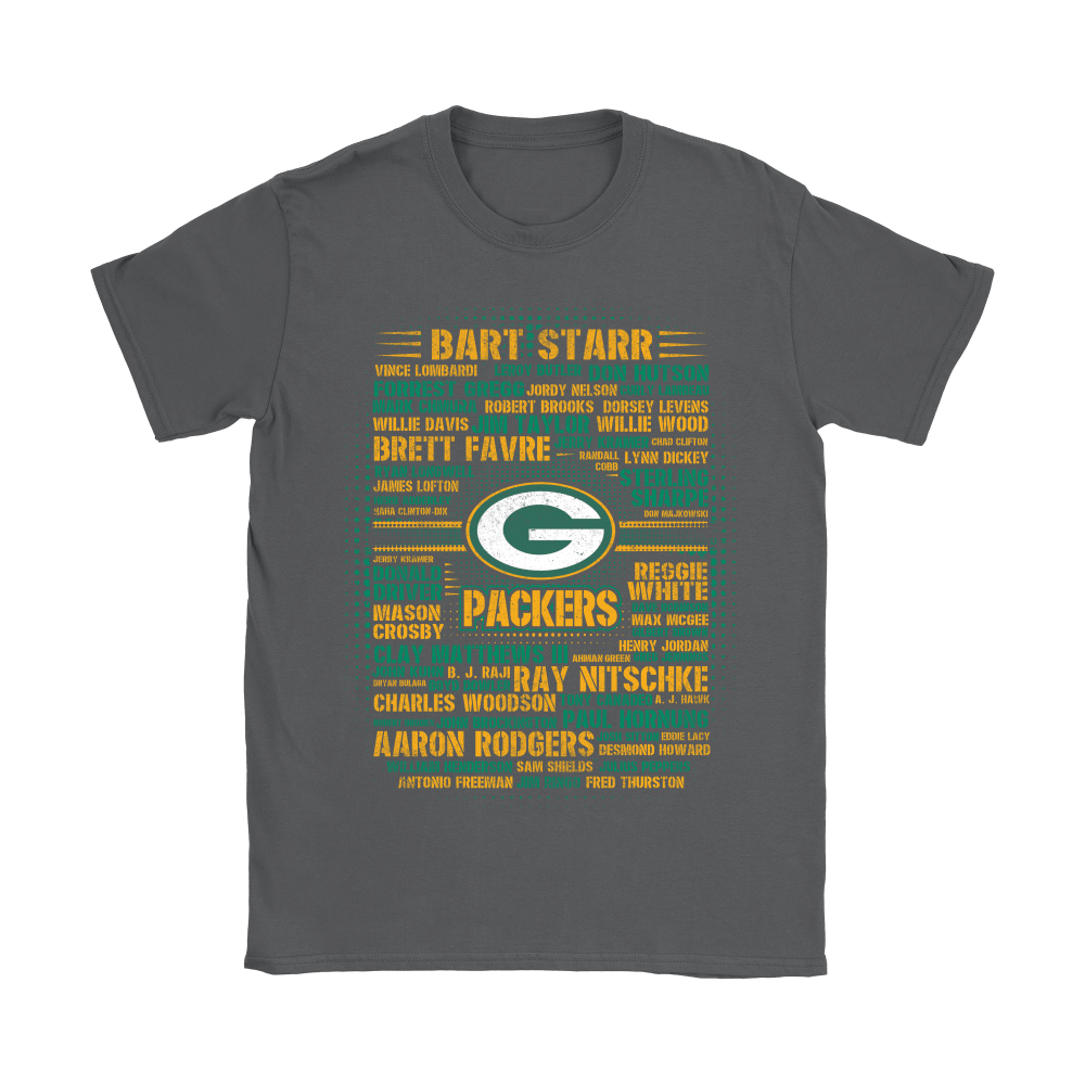 American Football All Players Team Green Bay Packers Shirts 7