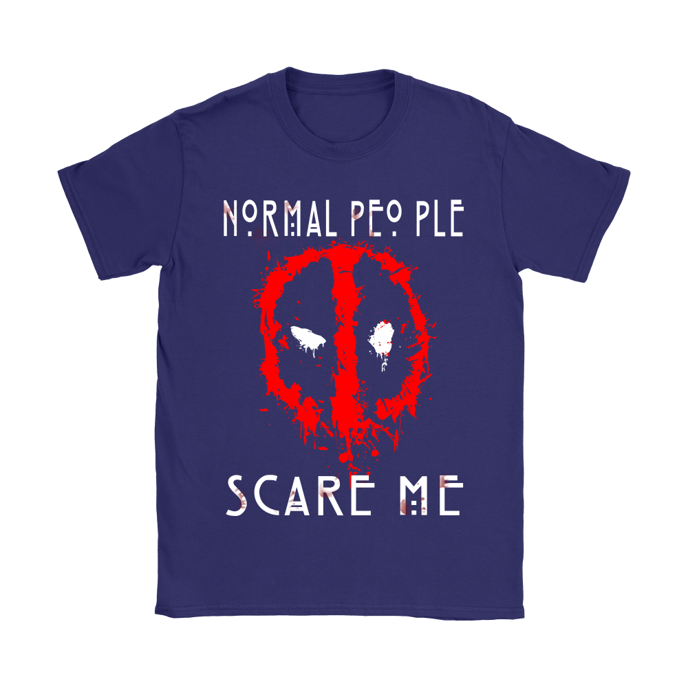 American Horror Story Normal People Scare Me Autism Deadpool Shirts 10