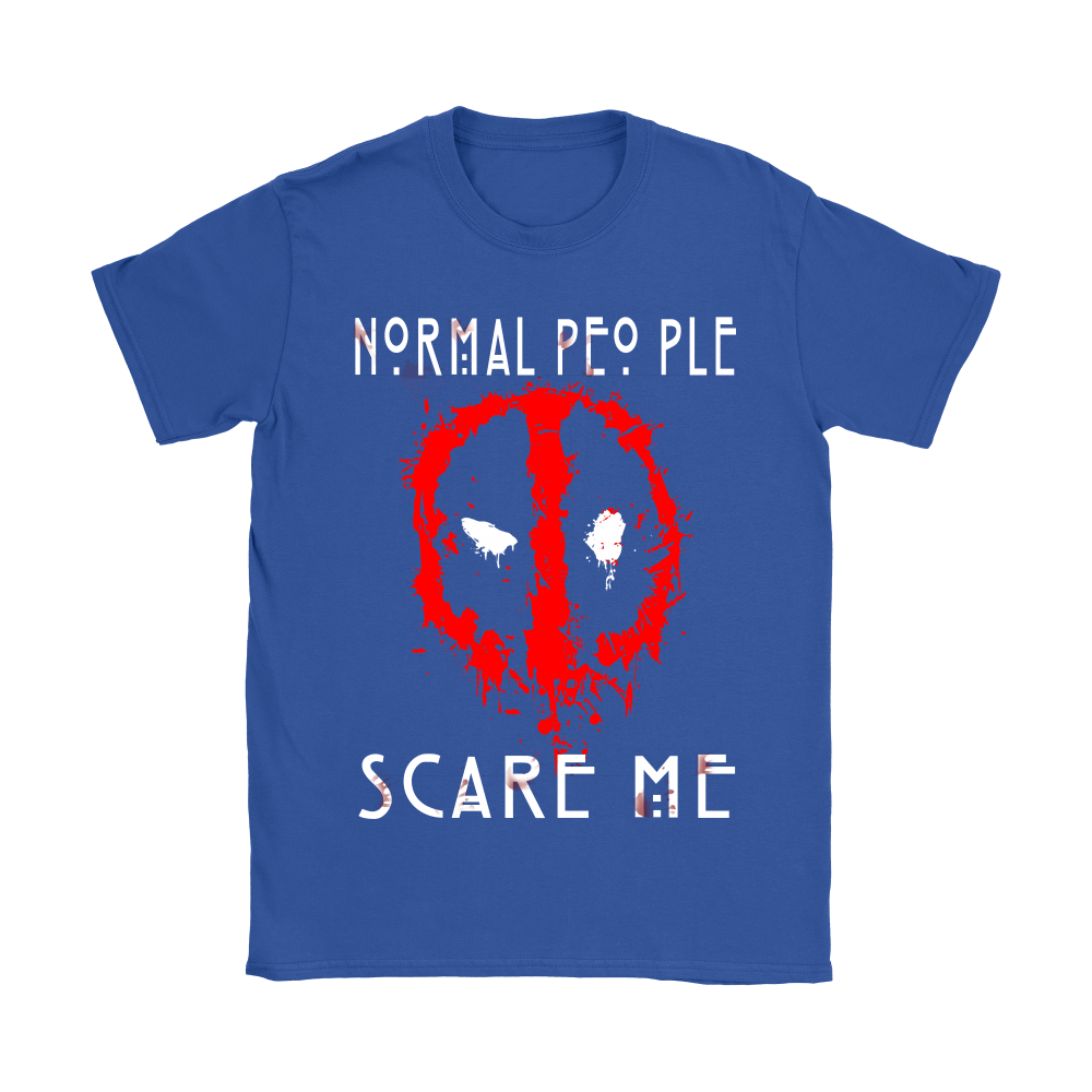 American Horror Story Normal People Scare Me Autism Deadpool Shirts 11