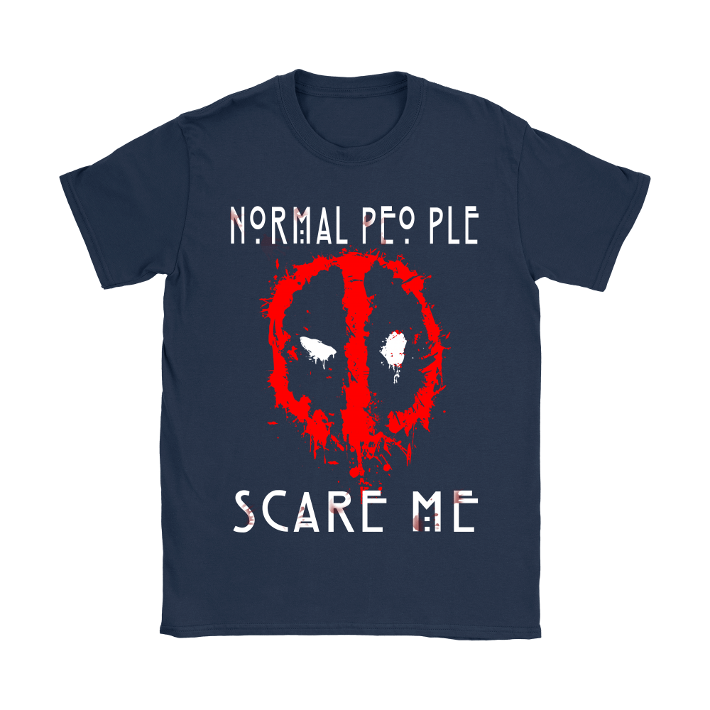 American Horror Story Normal People Scare Me Autism Deadpool Shirts 9