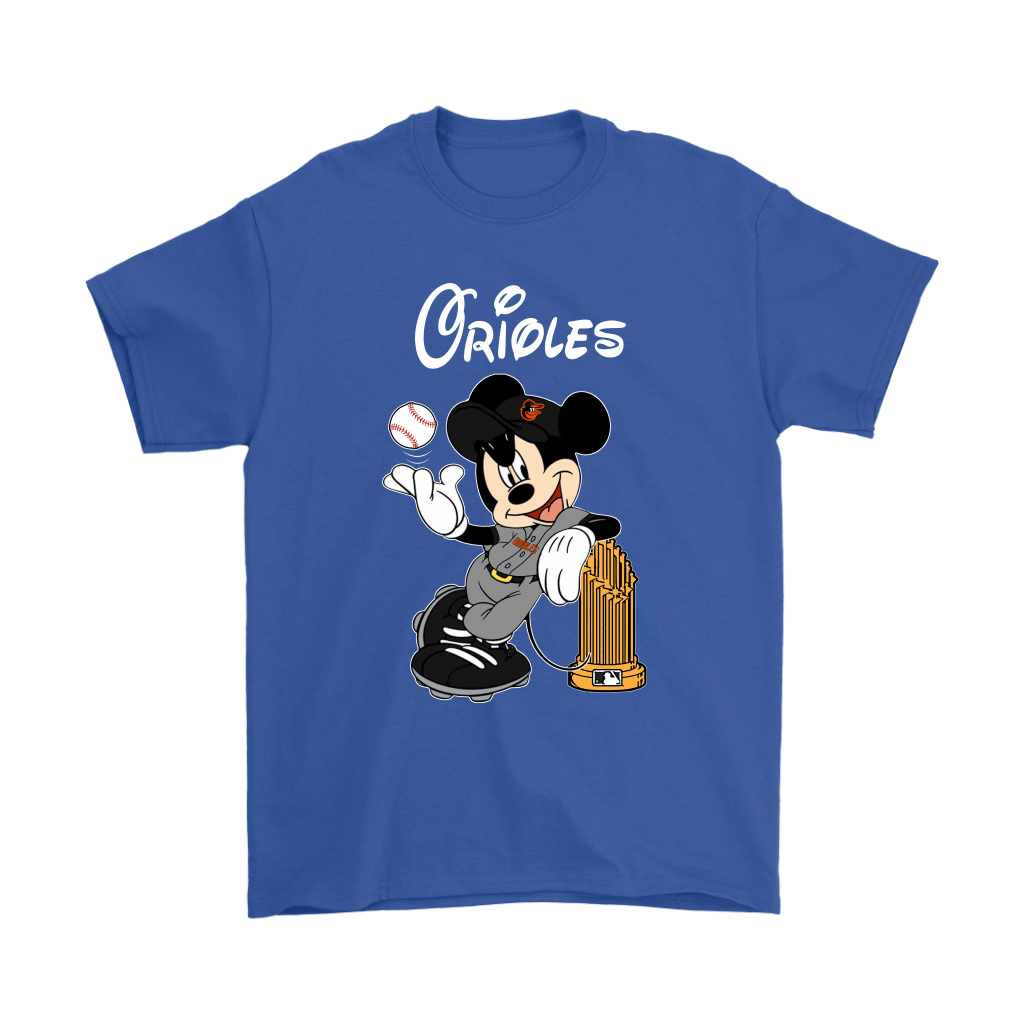 Baltimore Orioles Mickey Taking The Trophy MLB 2018 Shirts 6