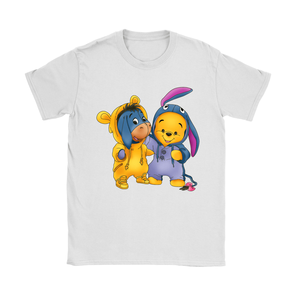 Best Friends Trade Costumes Pooh And Eeyore Shirts 14