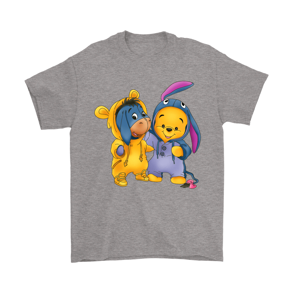 Best Friends Trade Costumes Pooh And Eeyore Shirts 6