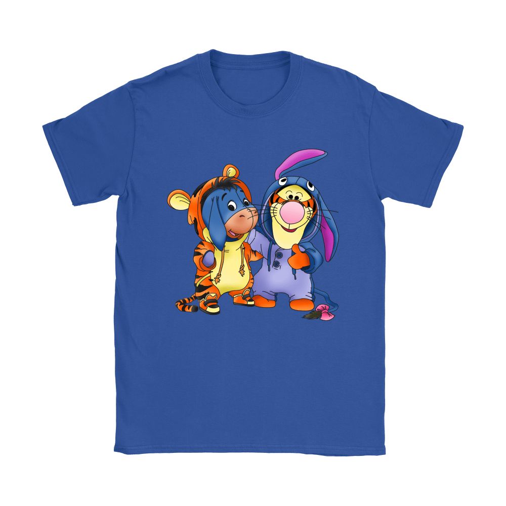 Best Friends Trade Costumes Tigger And Eeyore Shirts 12