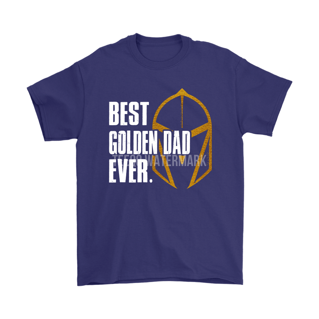 Best Golden Dad Ever Vegas Golden Knights Father's Day Shirts 4