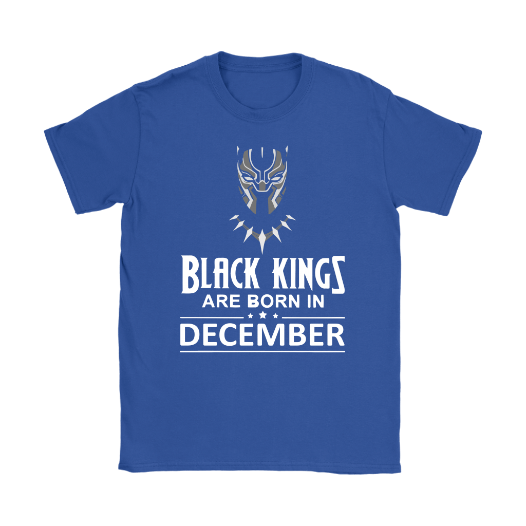 Black Kings Are Born In December Black Panther Shirts 10