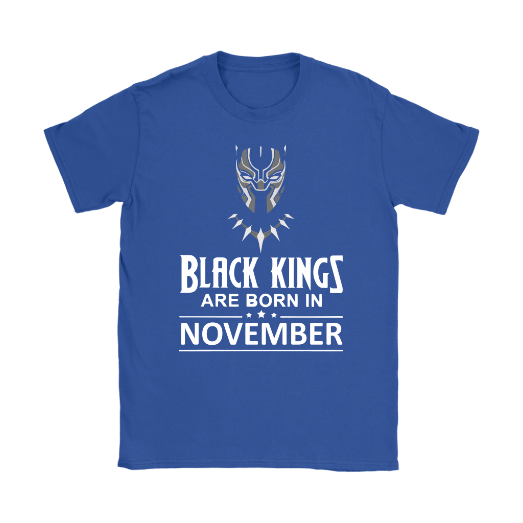 Black Kings Are Born In November Black Panther Shirts 10