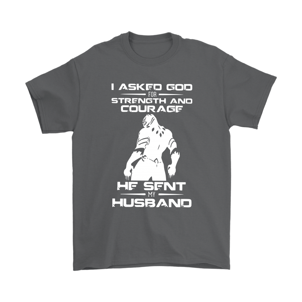 Black Panther I Asked God For Strength And Courage Family Shirts 2