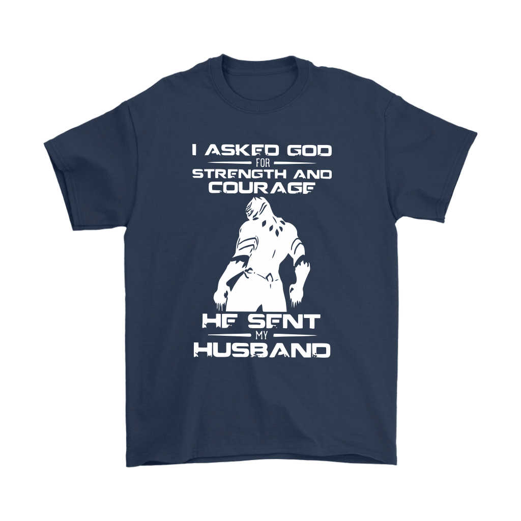 Black Panther I Asked God For Strength And Courage Family Shirts 3