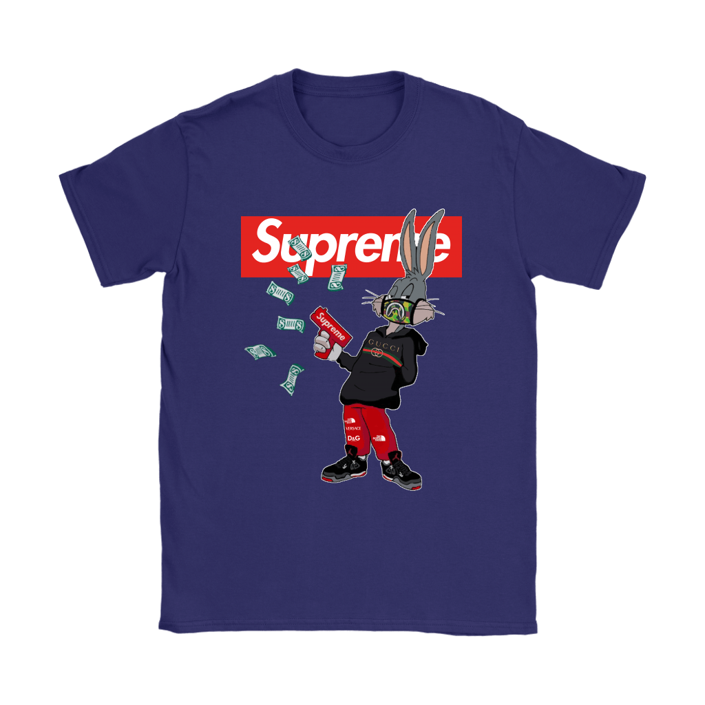 Bugs Rabbit Supreme And Gucci Mashup Shirts 11