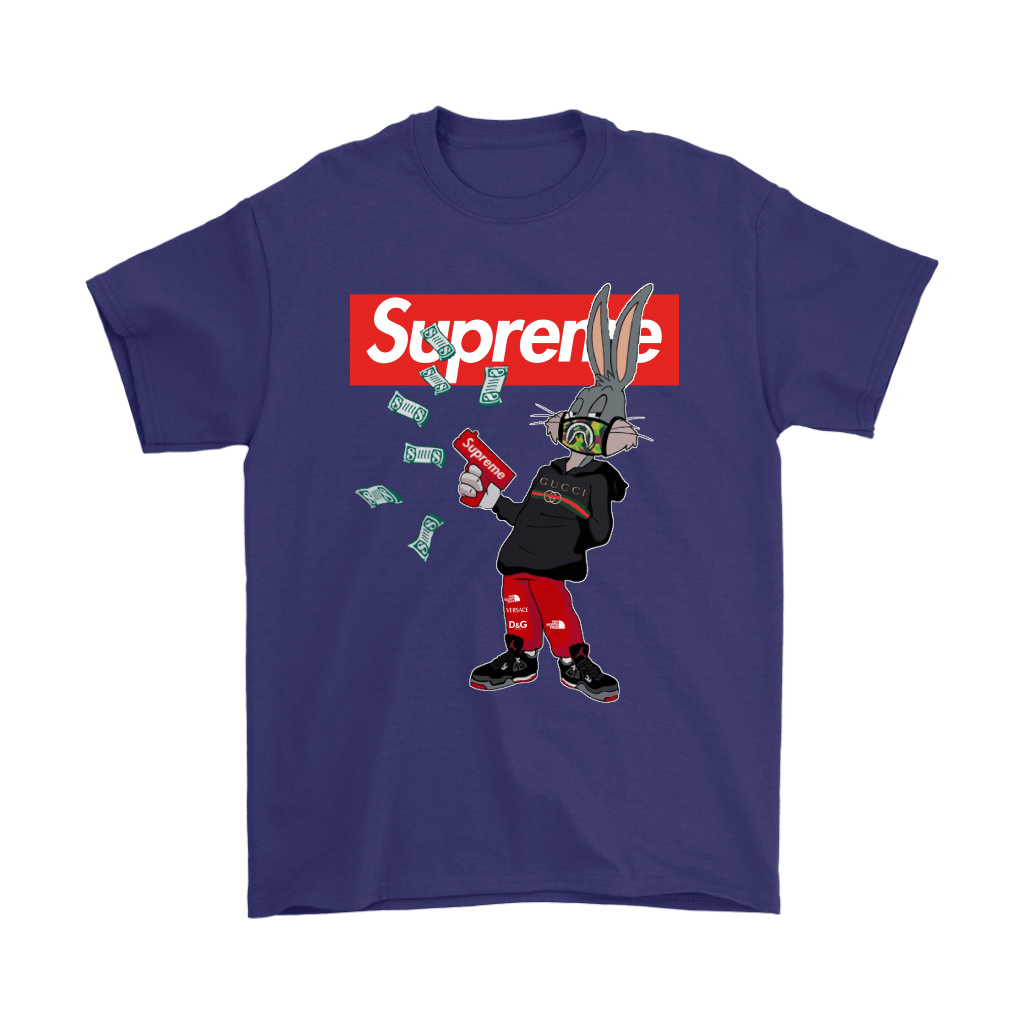 Bugs Rabbit Supreme And Gucci Mashup Shirts 4