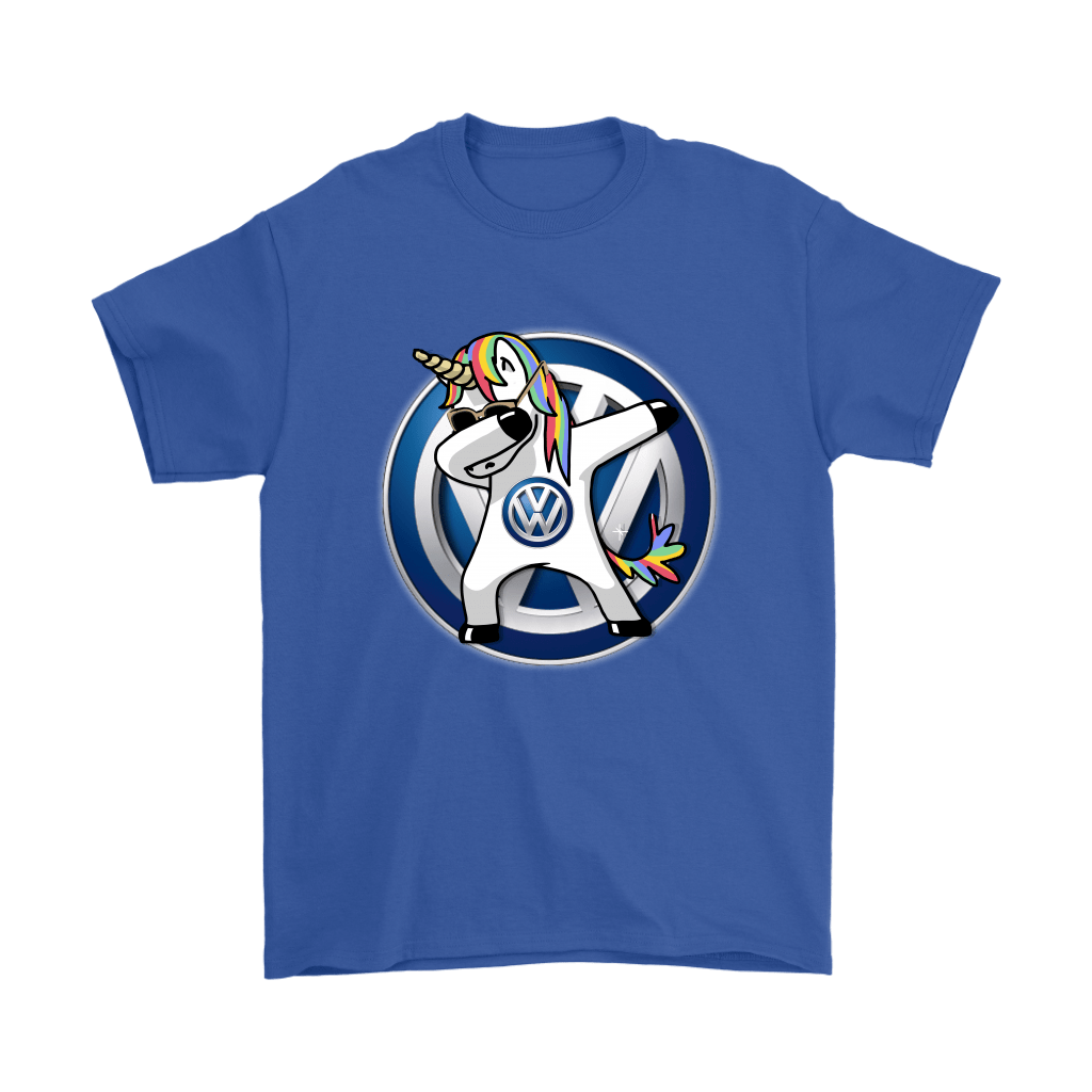Car - I Flippin' Love Volkswagen Dabbing Hip Hop Unicorn Shirts 5