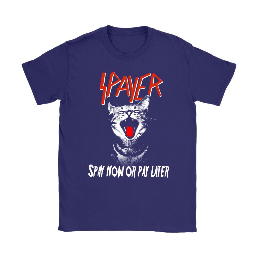 Cat Spayer Spay Now Or Pay Later x Slayer Band Shirts 10