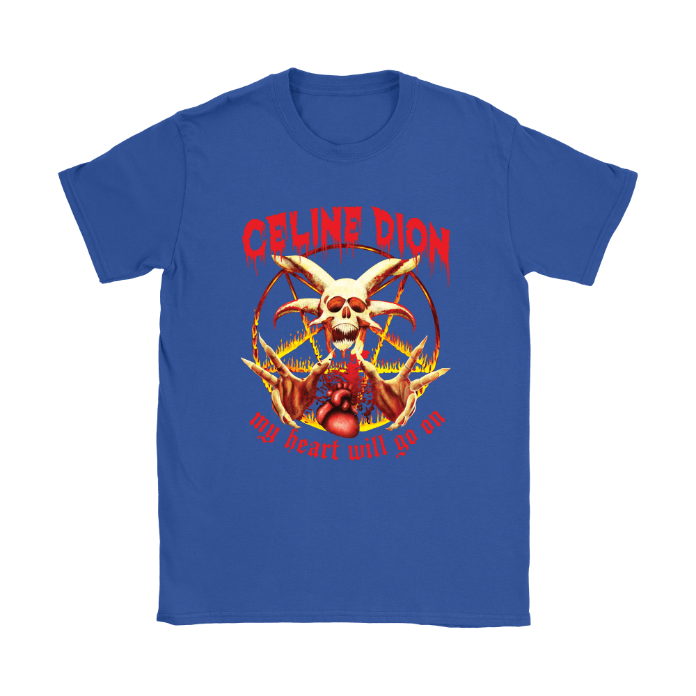 Celine Dion My Heart Will Go On Satanic Shirts 11