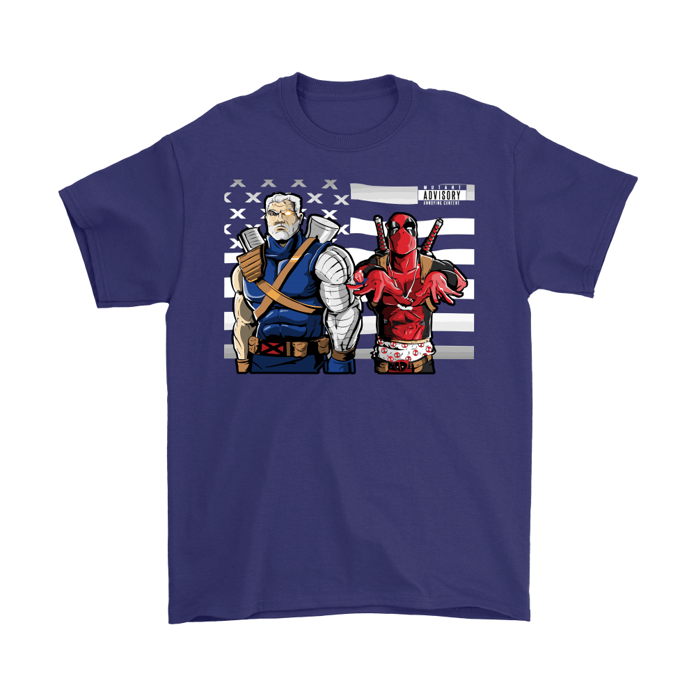 Chimichanga Junction Deadpool And Cable Shirts 3