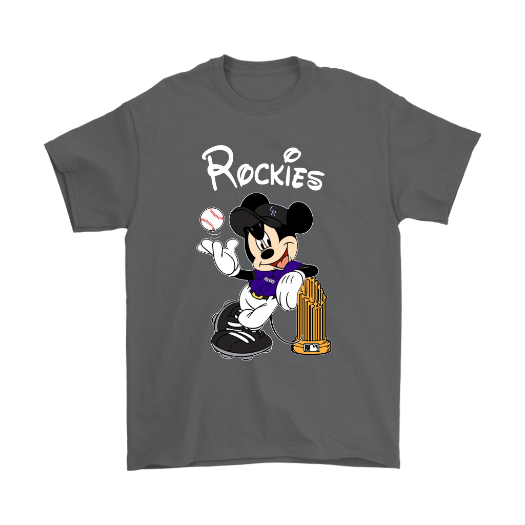 Colorado Rockies Mickey Taking The Trophy MLB 2018 Shirts 2