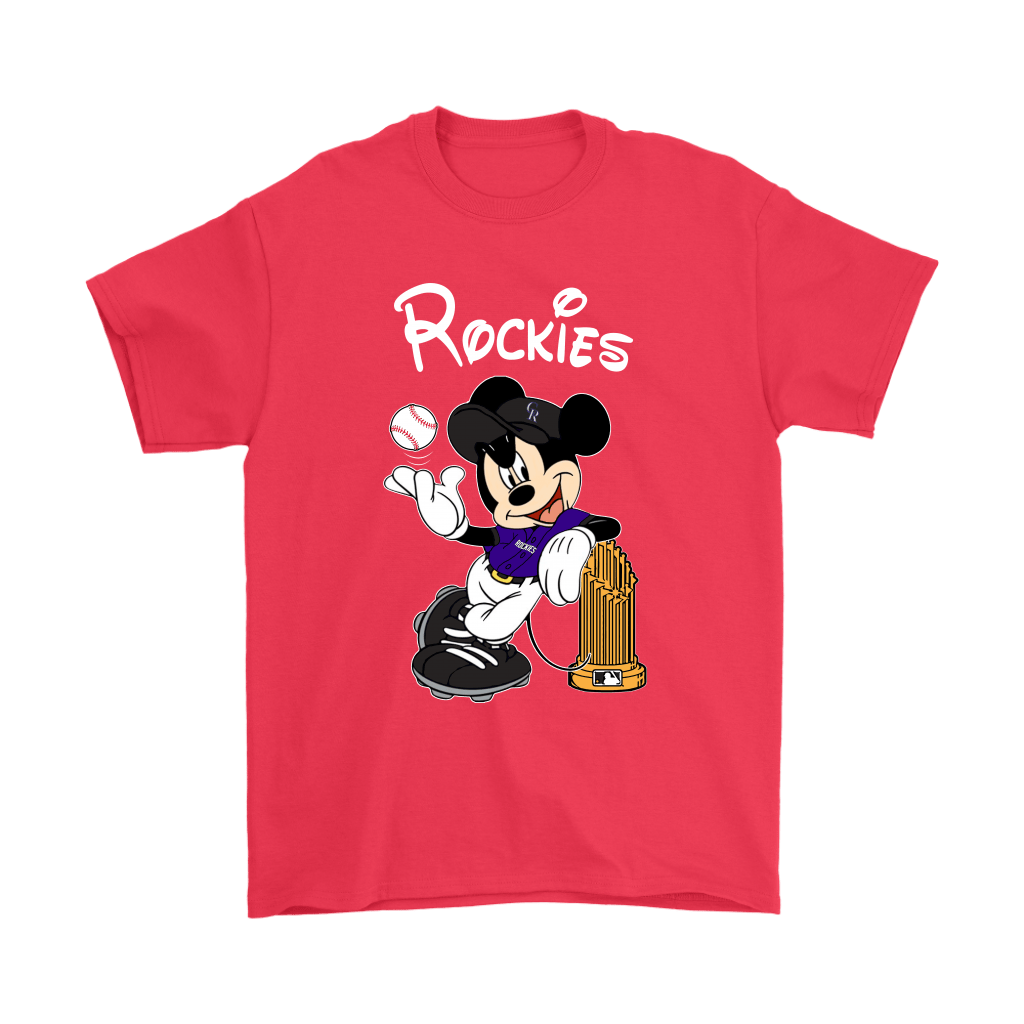 Colorado Rockies Mickey Taking The Trophy MLB 2018 Shirts 5