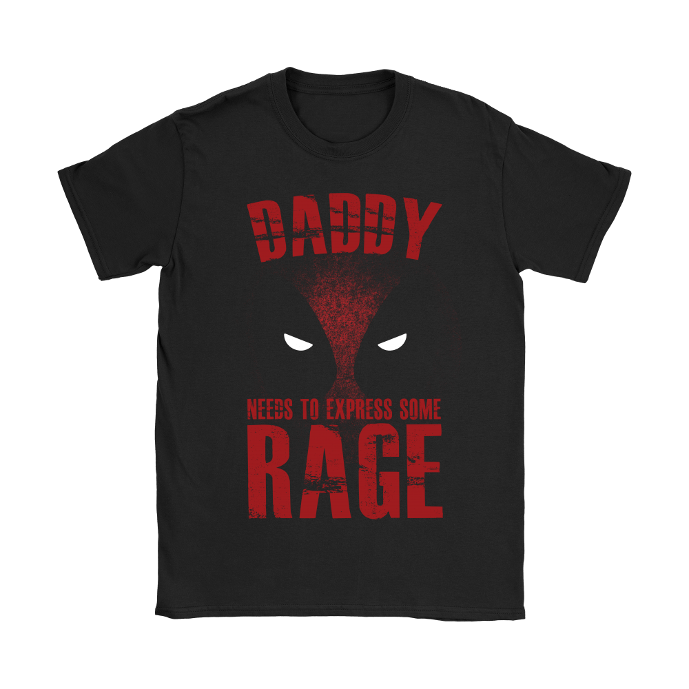 Deadpool Daddy Needs To Express Some Rage Shirts 4