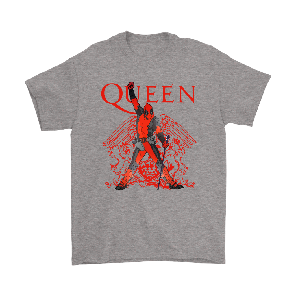 Deadpool Freedie Mercury Queen We Are The Champions Shirts 3