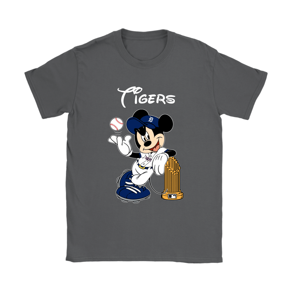 Detroit Tigers Mickey Taking The Trophy MLB 2018 Shirts 9