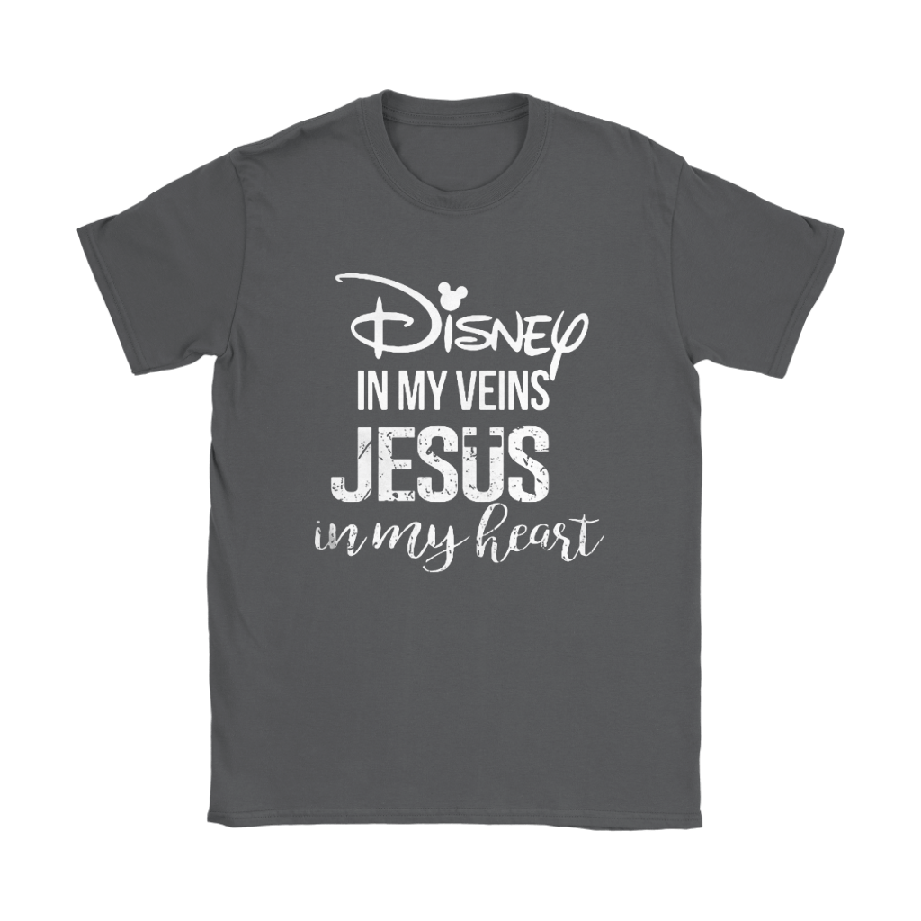 Disney In My Veins Jesus In My Hearts Shirts 10